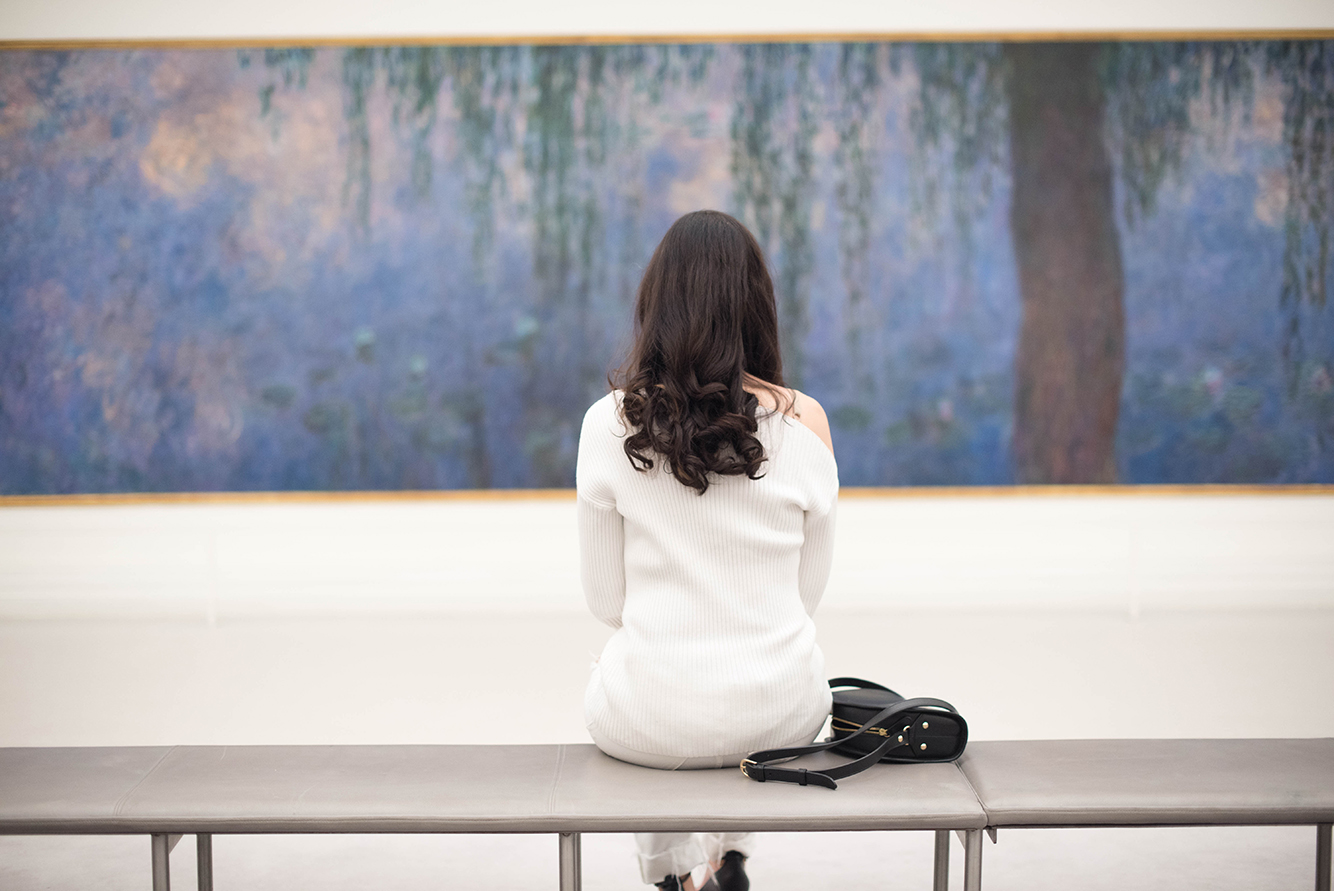 A morning with Monet